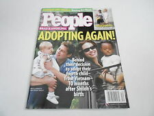 MARCH 19 2007 PEOPLE magazine (NO LABEL) UNREAD - BRAD & ANGELINA adopting