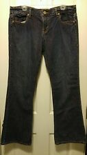 Womens Old Navy Special Edition Distressed Tinted Cotton Jeans sz 14