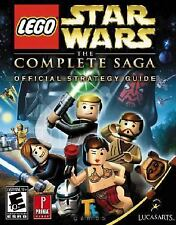 LEGO STAR WARS THE COMPLETE SAGA OFFICIAL GAME GUIDE for  PS3 XBOX 360 Wii