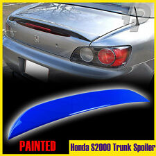 Painted #B66P Monte Carlo Blue For Honda S2000 OE-Type Trunk Spoiler Rear 2009