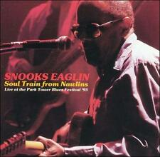 NEW - Soul Train From Nawlins Live at Park Tower Blues by Eaglin, Snooks