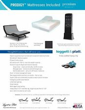 LEGGETT AND PLATT SPLIT KING ADJUSTABLE SLEEP AIR BED  MATTRESS 50 NUMBER DIAL