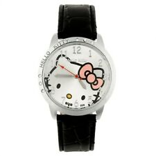 Precioso Reloj HELLO KITTY watch  in black Color negro A1734