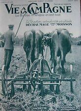 LA VIE à la CAMPAGNE 1949 FLEURS CULTURES DE LA ROSE LABOURAGE ELEVAGE RAGONDINS