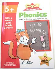 Year 1 Phonics Educational Activity Book Learn how to Read Literacy Practise NEW
