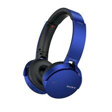 Sony MDR-XB650BT EXTRA BASS Bluetooth Wireless NFC Headphones BLUE