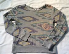 COTTON ON Womens Size Small  Gray/ Multi Color  Sweat Shirt