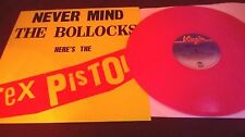 Sex Pistols ‎– Never Mind The Bollocks RARE PINK VINYL re LP virgin