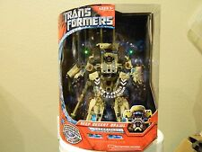 Transformers Movie 2007 Leader Class Deep Desert Brawl NEW IN BOX LIGHTS SOUNDS
