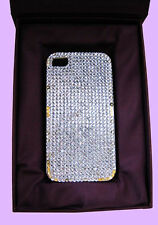 JIMMY CRYSTAL NY iPhone 4/4S Rhinestone CASE Msrp $175.00 *COMES IN ORIGINAL BOX