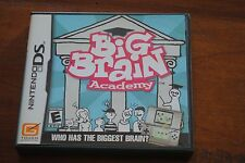 Nintendo DS Big Brain Academy  Game with Case & Booklet who has the biggest ??