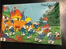 1980's 100pc Smurf Puzzle (Missing 2 Pieces)