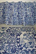 WINDOW VALANCE w NEW RALPH LAUREN BLUE PORCELAIN PAISLEY FLORAL VALANCE 60