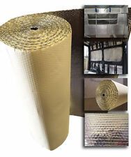15 x 1.05m SELF ADHESIVE Thermal Bubble Foil Insulation caravan Camper van kit