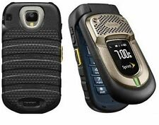 Kyocera DuraXT E4277 Black Sprint CDMA Flip Cellular Phone Military Rugged