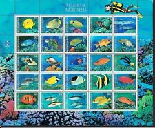 238 different Micronesia stamps Marine animals ships orchids fruit cars MINT MNH