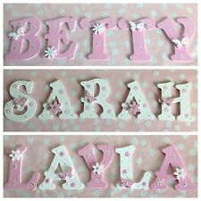 Personalised Child Kids Bedroom Wall Door Wooden Letter Name Plaque Sign Plate