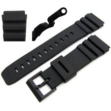 Watch strap 22mm/25mm to fit Casio AD520C AMW320C BM500WJ BM510WJ DEP700 DEP610