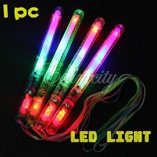 1X Multi Color LED Flashing Light Glow Wand Sticks Party Christmas Fun Supplies