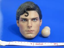 Hot Toys MMS152 SUPERMAN Christopher Reeve Head Sculpt w/Pegs 1:6 scale