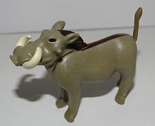 TRES RARE LE PHACOCHERE  PLAYMOBIL ANIMAUX ANIMAL SAVANE SAUVAGE ZOO