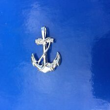 Sterling Silver925 Nautical Marine Anchor Pendant Sealife Ocean Jewelry