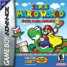 Super Mario Advance 2 - Mario World - Game Boy Advance
