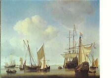 BF37302 ships in the roads painting wilhem van de velde young  Boat Ship Bateaux