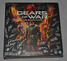 Autographed GEARS OF WAR Board Game XBOX by Lead Development Team EPIC GAMES