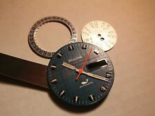 Bulova dial automatic, blue, with day and date disk, 3 hands and gasket, dial 28