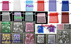 Organza Gift Bags Wedding Favours Jewellery Bags UK Seller Lovely/Many Varieties