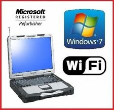 PANASONIC CF-30 TOUGHBOOK 4GB 500GB DVD TOUCHSCREEN WINDOWS 7 PRO RUGGED LAPTOP
