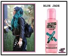 Crazy Color by Renbow Semi Permanent Hair Dye Cream - Blue Jade No.67 100ml