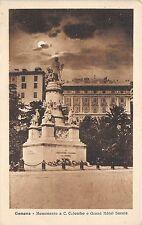 BG26702 genova monumento a c colombo e grand hotel savoie  italy