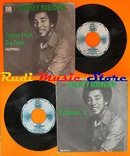 LP 45 7'' SMOKEY ROBINSON Theme from big time Vitamin u 1977 italy cd mc * dvd