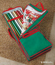 Giftwrap Organizer IN STOCK Wrapping Paper Storage Bag Christmas Holiday Ribbon