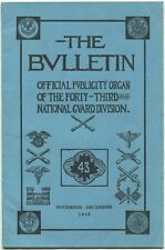 The Bulletin Vol. X Nov.-Dec., 1940 No. 7-8 1940 1st Ed. SC Book