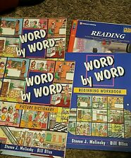 Lot of Teaching Homeschooling Books for Young Children -READING-WORD BY WORD
