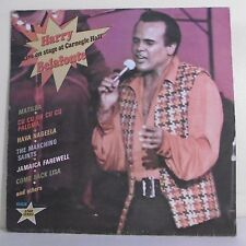 """33T Harry BELAFONTE Disque LP 12"""" LIVE ON STAGE AT CARNEGIE HALL - RCA 7149"""