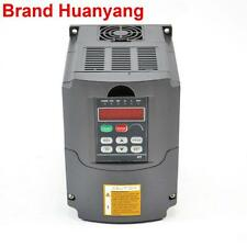 VFD 2.2KW INPUT 220V set up to OUTPUT 380V VARIABLE FREQUENCY DRIVE INVERTER