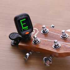 Automatic Clip-On Digital Tuner for Acoustic Electric Guitar Bass Violin
