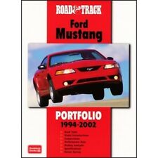 Road & Track Ford Mustang Portfolio 1994-2002 book paper