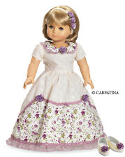 """Doll Clothes AG 18"""" Dress Victorian by Carpatina Made For American Girl Dolls"""