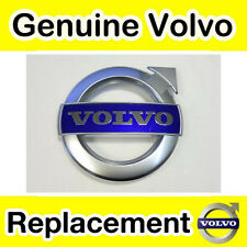 Genuine Volvo c30, s40, v50, c70 (11 -) Griglia BADGE (MATT CHROME R-design)