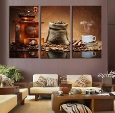 3 Panels Home Decor Art Picture Modern Wall Painting Large Coffee Cup On Canvas