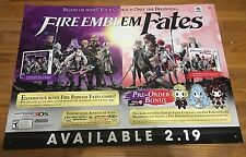 Nintendo Fire Emblem Birthright Conquest Promotional GameStop Store Display