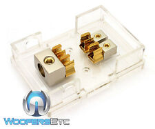 PHOENIX TXBB2 GOLD 0 GA 4 AWG 2 AMP FUSE SPEAKER SUB AMPLIFER DISTRIBUTION BLOCK