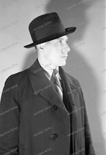 Negativ-Portrait-Mann-Anzug-Hut-Cute-German-Man-Dress-Hat-1930er Jahre-1930s-14