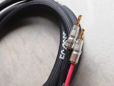 Ecosse MS2.4 Monocrystal Speaker cable 3m set terminated with Z/X Bananas