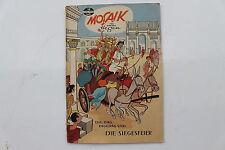 original MOSAIK Hannes Hegen Nr. 19 Dig Dag Digedag und die Siegesfeier COMIC Z2